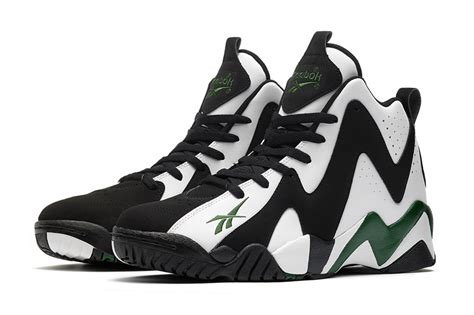 shawn kemp basketball shoes reebok kamikaze ii 2013 re release in white black rivet