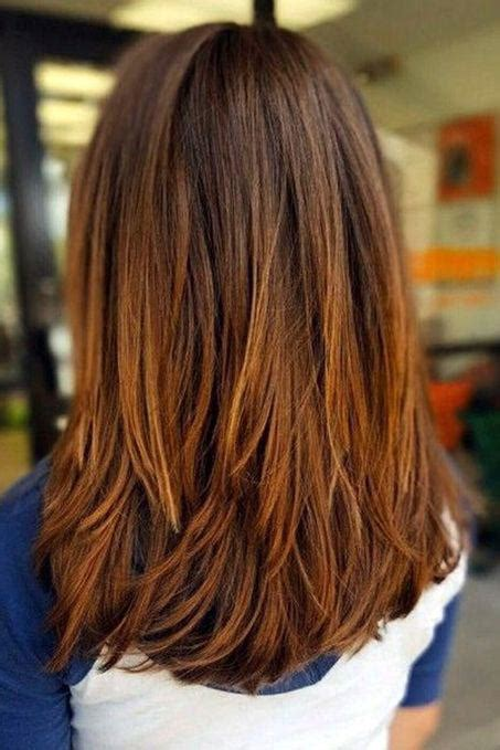 styish layered thick long hair google medium length hairstyles we re loving right now southern