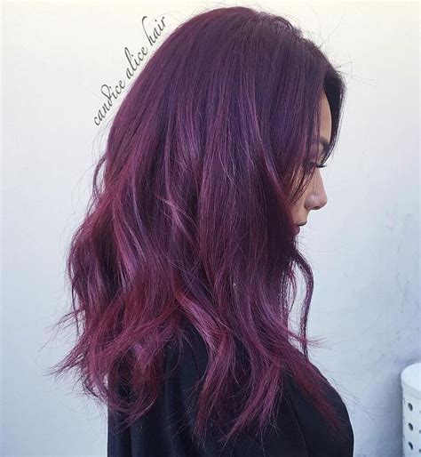 maroon color hair 25 best ideas about maroon hair on burgundy