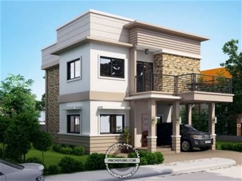 modern house design in pinoy with attic modern house designs eplans