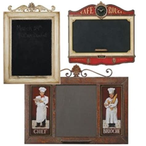 chalkboards and memo boards