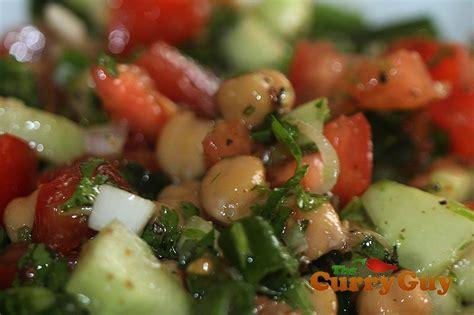 hot chick pea salad summer chickpea salad