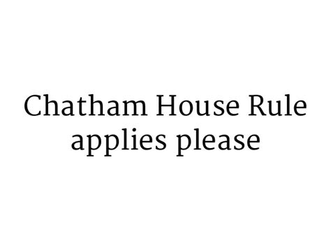 chatham house rules ux interviewing skills