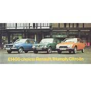 Citro&235n GS V Renault 12 Triumph Toledo  What Car 1975