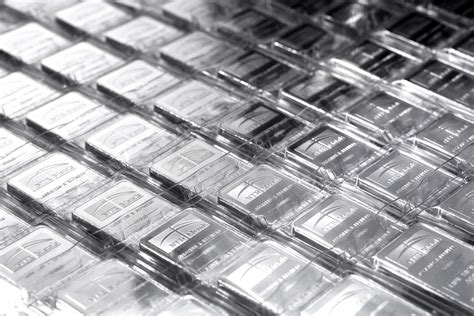silver metal bar silver demand is up 40 4 here