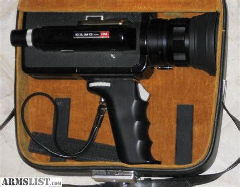 Armslist For Sale Trade Elmo Super 106 Super 8mm Video