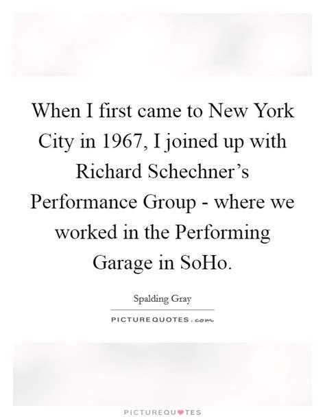 performing garage soho