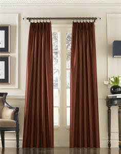 marquee drapes marquee faux silk pinch pleat drapery curtainworks com