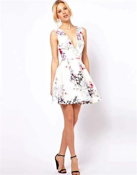 Fleuri Dress asos asos robe patineuse fleurie color 233 e chez asos