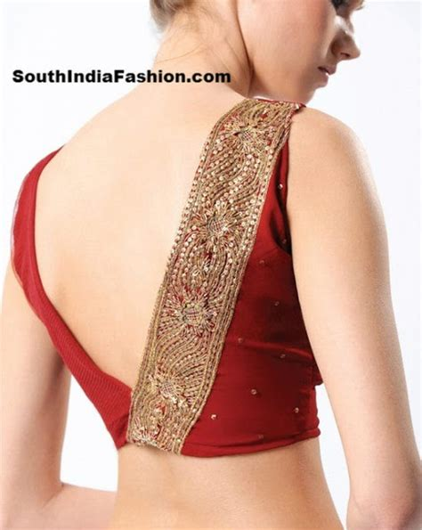 fashion design blouse neck pattern latest blouse back neck designs south india fashion