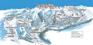 Where to ski and snowboard chatel