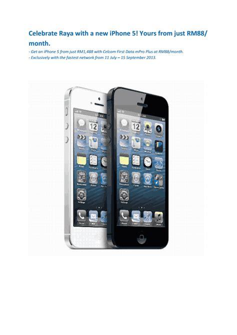 Axis Data 11 5gb 60 Hari simon says get an iphone 5 from celcom to celebrate hari