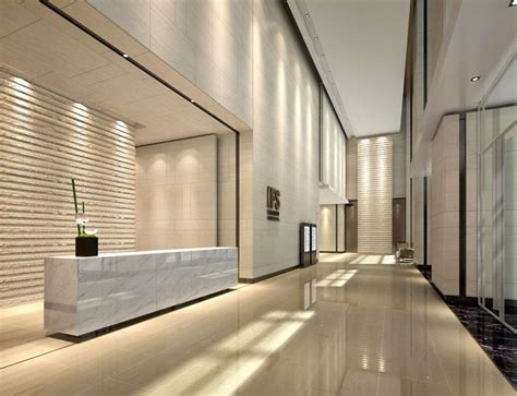 Modern Lobby by Modern Office Lobby Design Commercial Interior Design