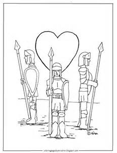 Guard Your Heart Coloring Page Pages For Kids Printable  sketch template