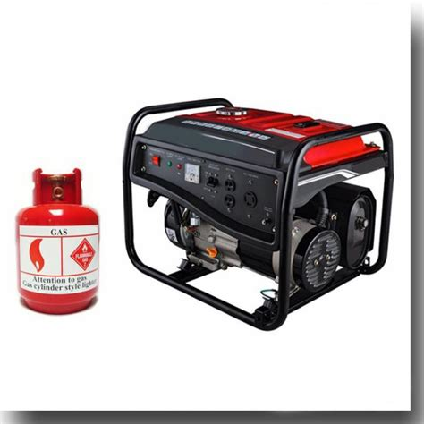 high performance portable gas electricity
