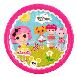 lalaloopsy dinner plates this party started