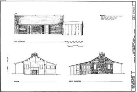Sectional Drawing Pdf by Chiricahua Nm A History Of The Building And Structures Of