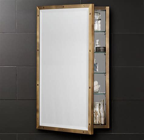restoration hardware astoria medicine cabinet 221 best bathrooms images on bathroom