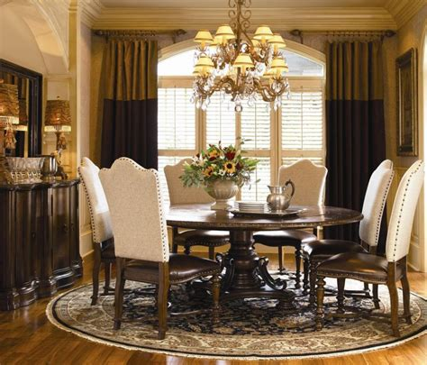 furniture formal dining room sets classic dining room knightcarr elegant round formal dining