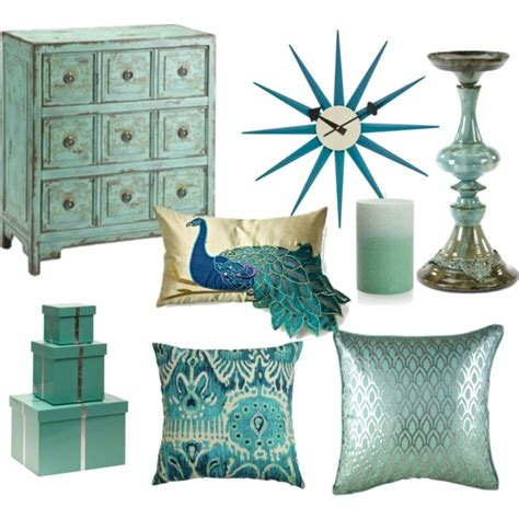 Turquoise Home Accessories Decor by Dress My Life My Body My House