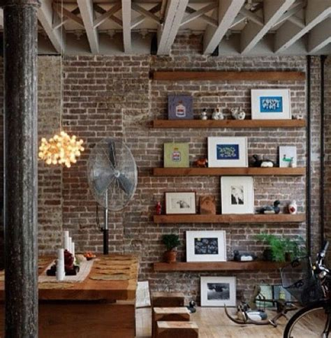 Studio Lights Cheap Floating Shelves On Feature Wall Accent Wall Pinterest