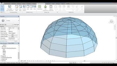 live roof rvt autodesk revit 2017 how to create a glass dome roof