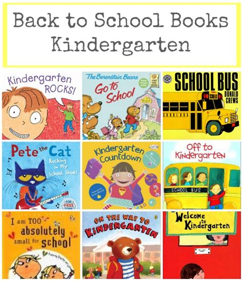 of school picture books back to school books for