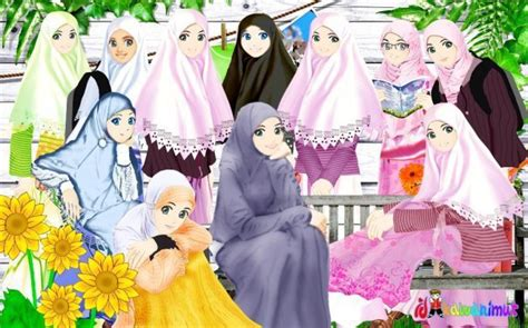 wallpaper cartoon muslimah hd wallpaper 2011 wallpaper muslimah cartoon