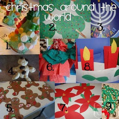 preschool craft ideas christmas around the world