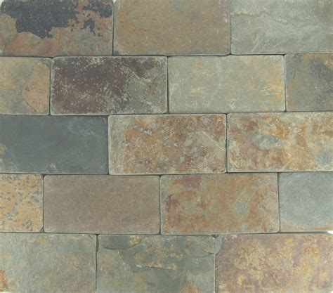 coppers mine tumbled petraslate tile stone is a