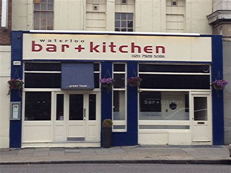 Waterloo Bar And Kitchen Review waterloo bar and kitchen 131 waterloo road se1 8ur