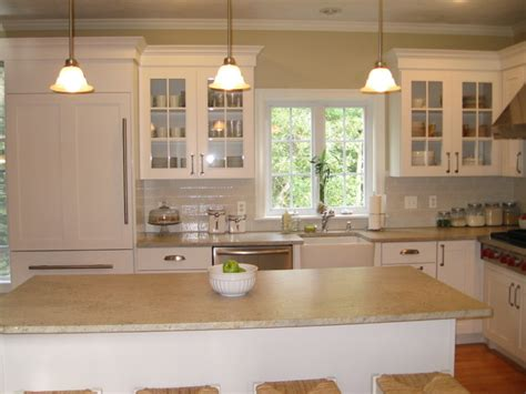 Kitchen Lights Ideas by Small White Kitchen