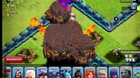 clash clans troops clash of clans hack 999 troops youtube