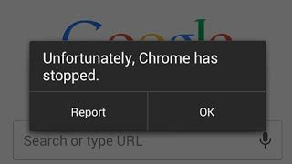 unfortunately android phone has stopped fix unfortunately chrome has stopped android error valuestuffz