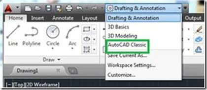 reset toolbars autocad autocad tip how can i restore the quot classic quot autocad