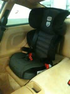 Porsche Baby Seat A Bit Different Child Booster Seat In 911 Pelican Parts