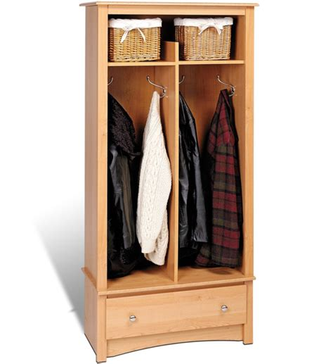 free standing entryway organizer in entryway storage