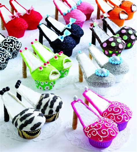 how to make high heels cupcakes tutorial