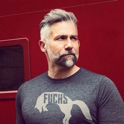 undercut hairstyles for men with gray hair 25 best hairstyles for older men 2018