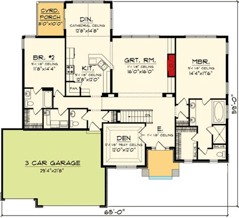 open concept ranch floor plans open concept living area 89850ah 1st floor master suite butler walk in pantry cad