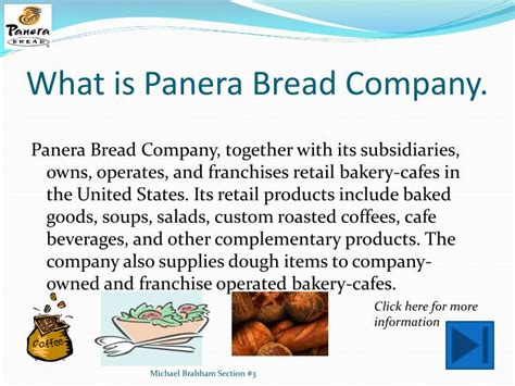 Panera Descriptions by Ppt Panera Bread Powerpoint Presentation Id 1628230