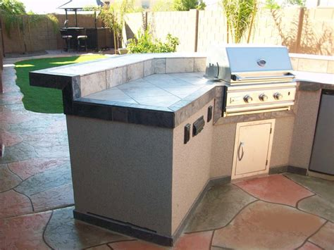 Prefab Outdoor Kitchen Island Kitchen Amazing Prefab Outdoor Kitchen With Gray Prefab Island Designed With Tiles Top Combine