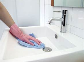 wash the bathroom how to remove rust stains from toilets tubs sinks