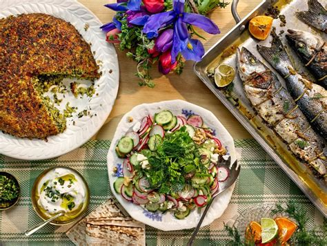 The Verdant Food Of Iran Entices At New Year The