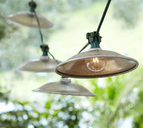Cafe Patio Lights Caf 233 String Lights Eclectic Outdoor Rope And String Lights By Pottery Barn