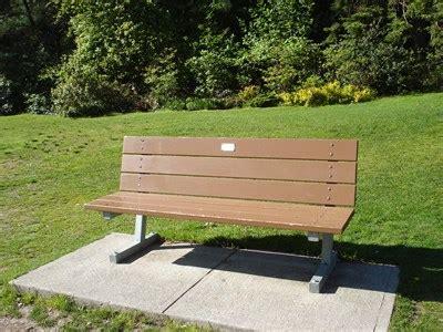 bench canada locations ester tameanko edward gardens toronto ontario canada