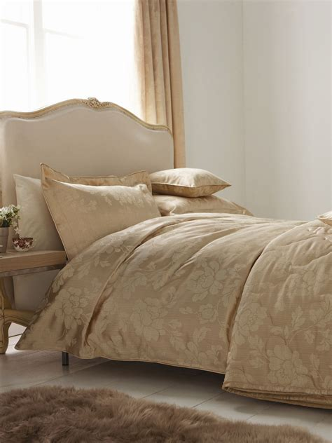 Gold King Duvet Cover sanderson albury gold king size duvet cover review compare prices buy
