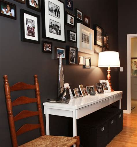 charcoal paint behr ultra intellectual for an accent wall in my master bedroom home
