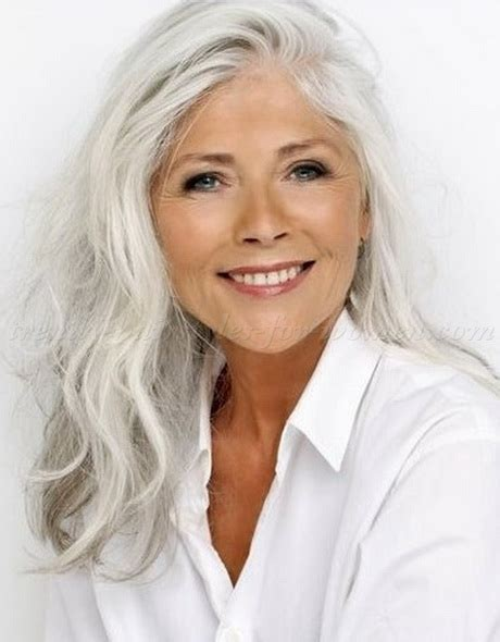 50 year old women with short grey hair hairstyles gray hair