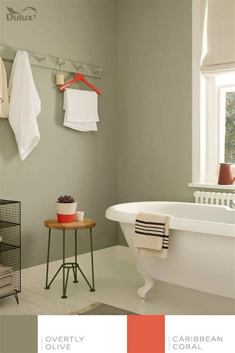 kitchen walls overtly olive dulux home